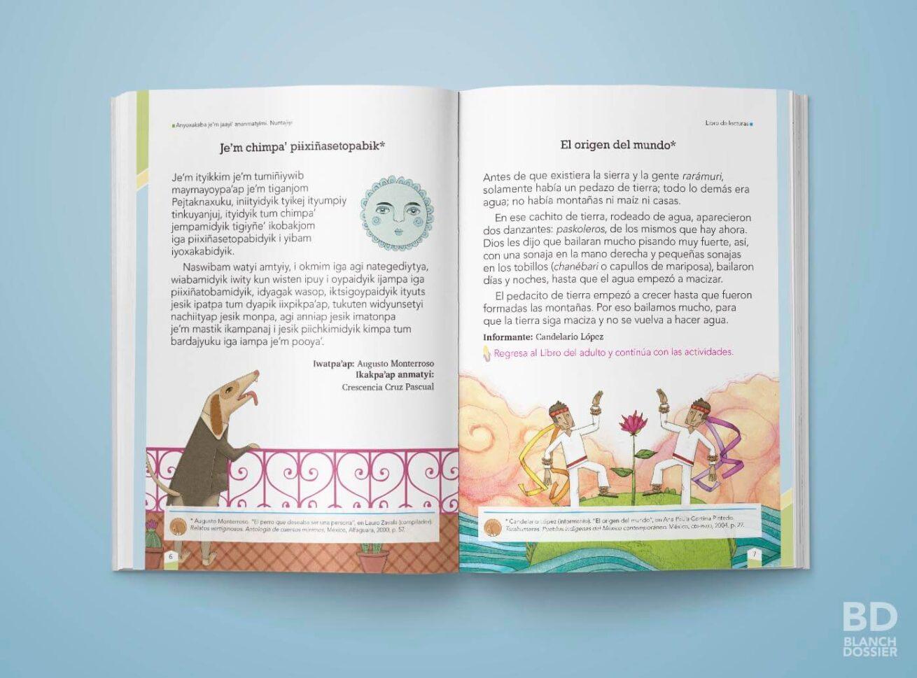 Libro INEA en lengua popoluca