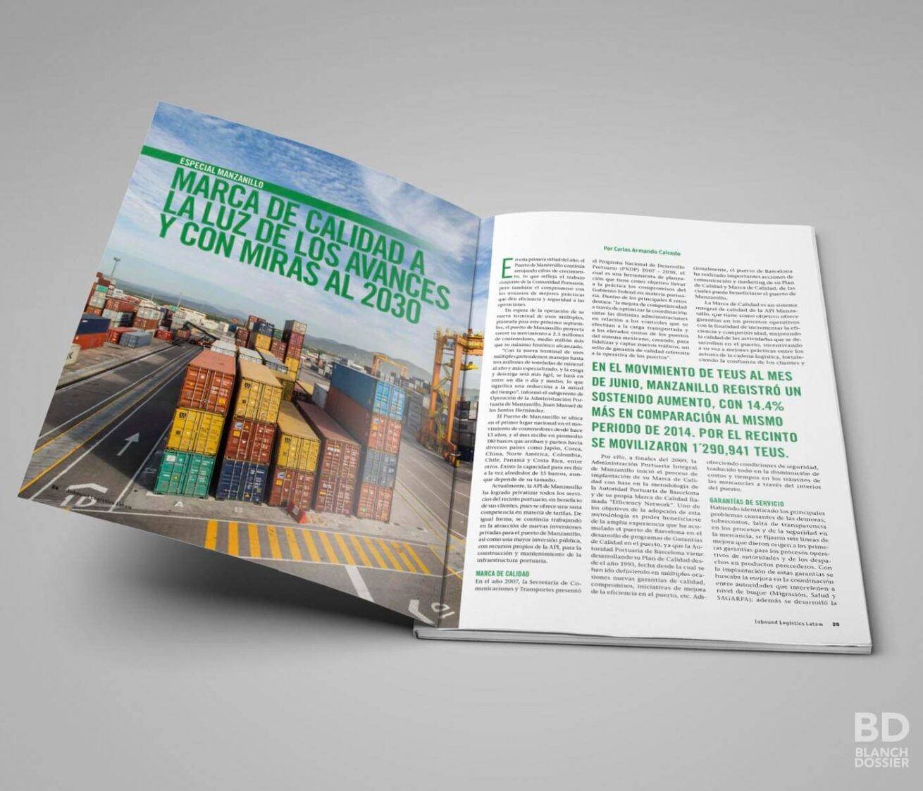 Revista Inbound Logistics Latam - Diseño Editorial