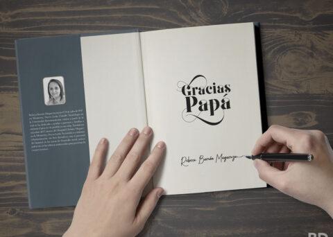 Libro-crónica familiar. Impresión digital encuadernado artesanal